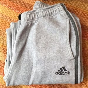 Adidas Grey Sweatpants
